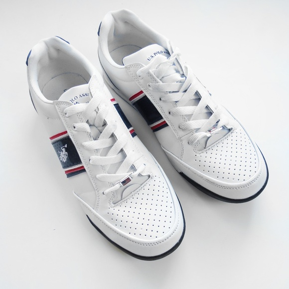 Classic White Ralph Lauren Sneakers Polo xBreWdCo